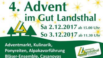 4. Advent im Gut Landsthal