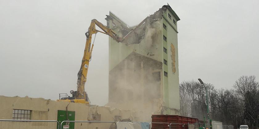 Abbruch Lagerhaus Zistersdorf